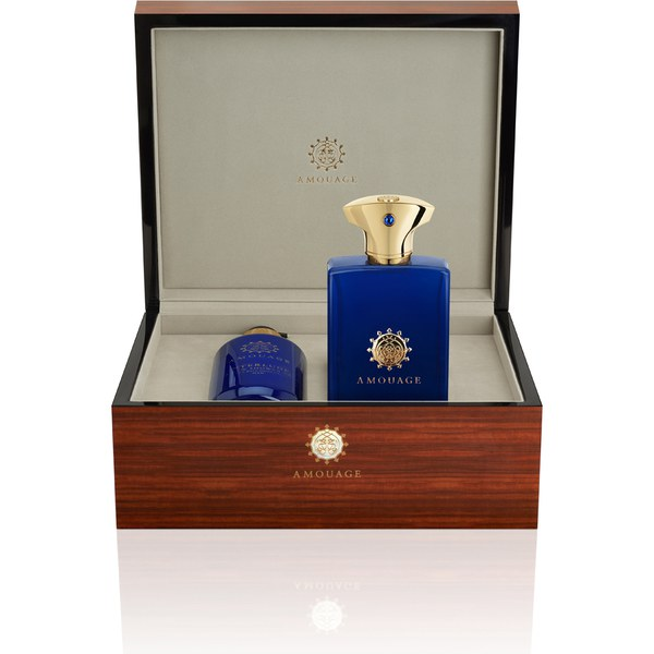 Amouage Interlude Man Marquetry Luxury Set (100ml)