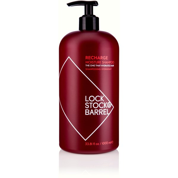 Lock Stock & Barrel焕发Moisture Shampoo (1000ml)