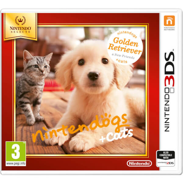 Nintendo Selects Nintendogs + Cats (Golden Retriever + New Friends) - Digital Download