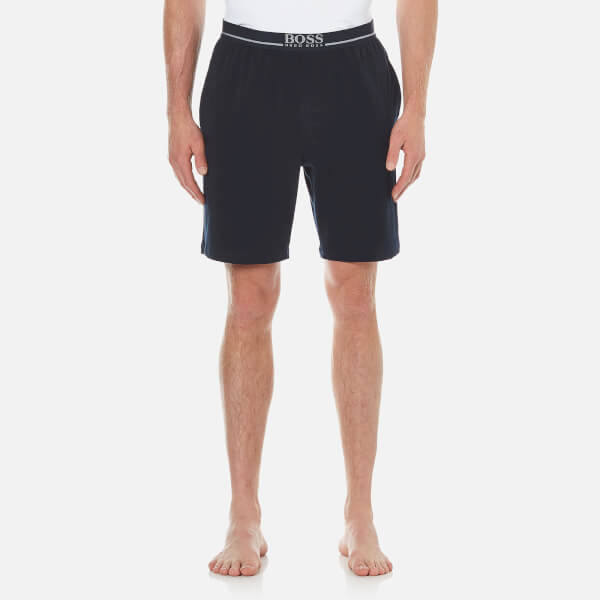 BOSS Hugo Boss Men's Cotton Lounge Shorts - Navy