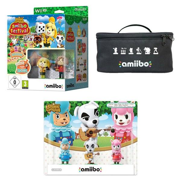 Animal Crossing: amiibo Festival amiibo Pack (K.K. Slider + Cyrus + Reese)