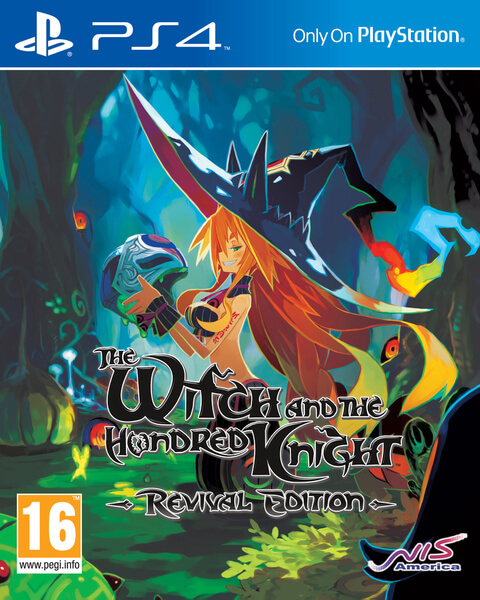 Kết quả hình ảnh cho The Witch and the Hundred Knight  Revival Edition cover ps4