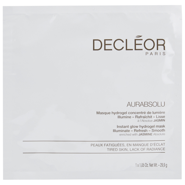 Masque Hydrogel Aurabsolu de DECLÉOR