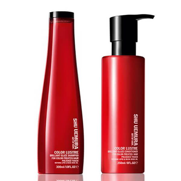 Shu Uemura Art Of Hair Color Lustre duo cheveux colorés - shampooing (300ml) et après-shampooing (250ml)