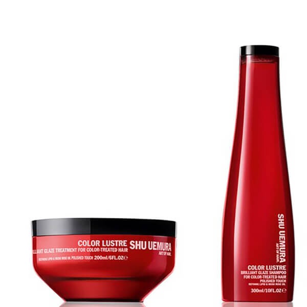 Shu Uemura Art Of Hair Color Lustre duo cheveux colorés - shampooing (300ml) et masque des cheveux (200ml)