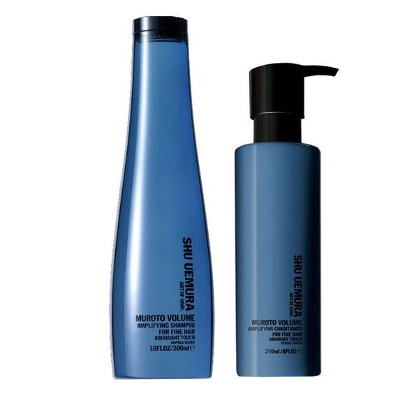 Shu Uemura Art of Hair Muroto duo volumisant - shampooing (300ml) et après-shampooing (250ml)