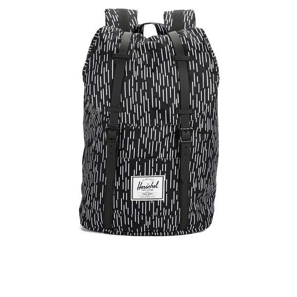 bbd0eddb03a Herschel Supply Co. Retreat Backpack - Black White Rain Camo  Image 1