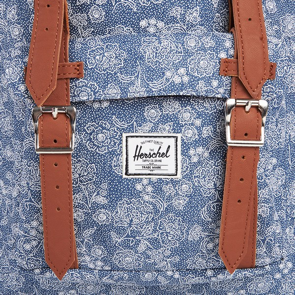 Herschel Supply Co. Little America Mid Volume Backpack - Floral Chambray   Image 3 d13dfba8f3795