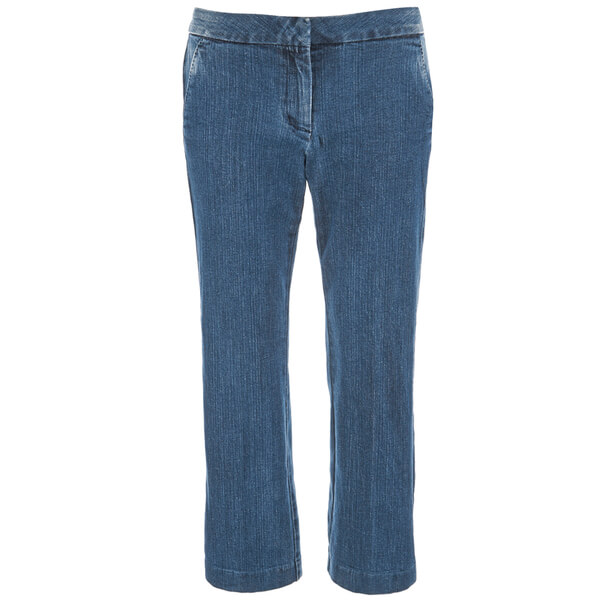MICHAEL MICHAEL KORS Women's Denim Crop Flare Jeans - Huston Wash