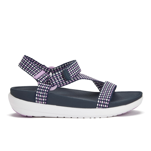 fad45e689464 FitFlop Women s Z-Strap Sandals - Dusty Lilac Navy  Image 1