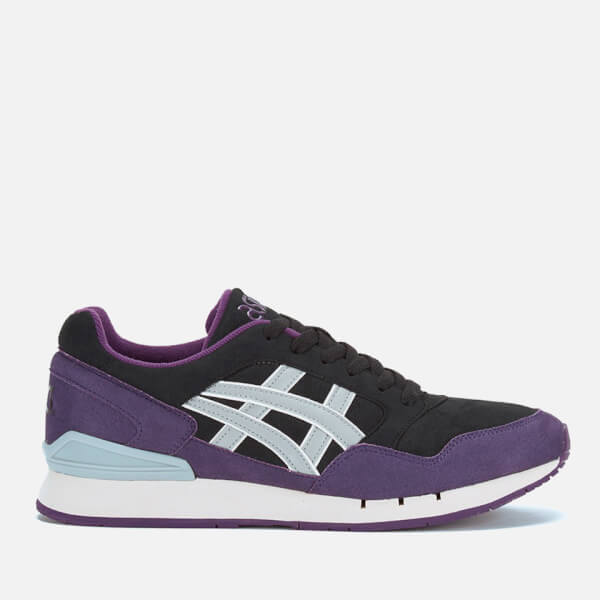 Asics Gel-Atlantis Trainers - Black/Light Grey