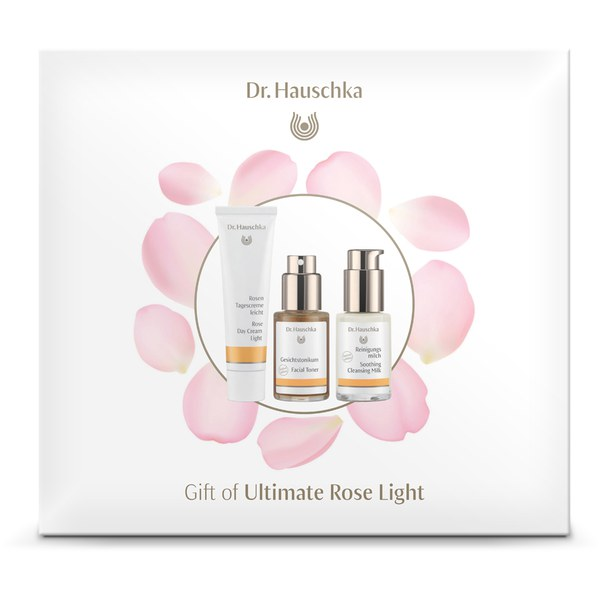 dr hauschka ultimate rose light gift set worth free shipping lookfantastic. Black Bedroom Furniture Sets. Home Design Ideas