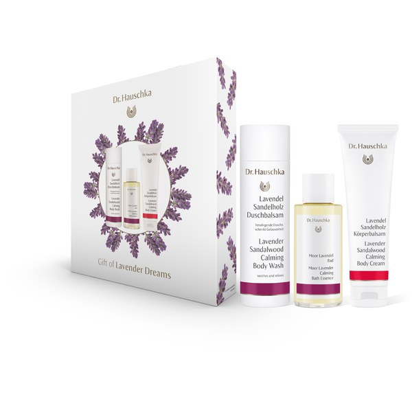 dr hauschka lavender dream gift set worth buy online mankind. Black Bedroom Furniture Sets. Home Design Ideas