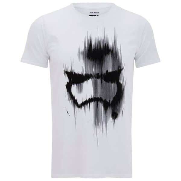 Star Wars Men's Stormtrooper Mask T-Shirt - White