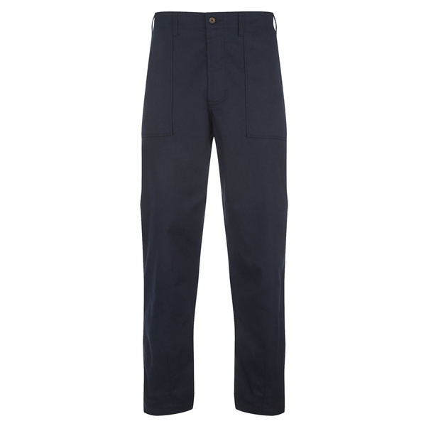 Universal Works Men's Fatigue Twill Pants - Navy
