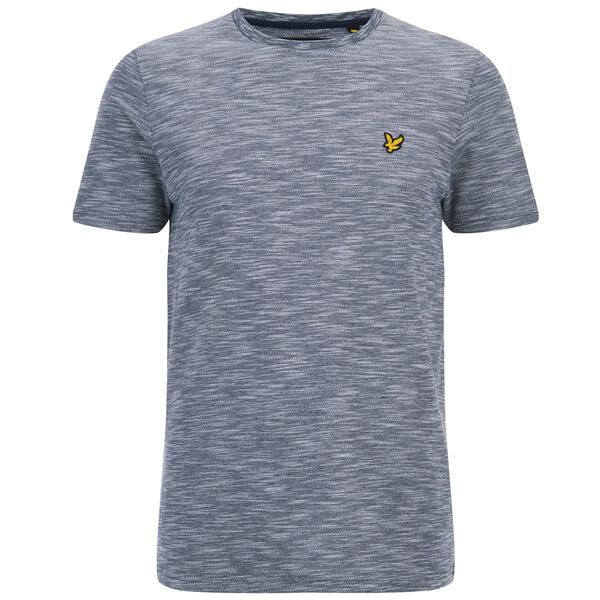 Lyle & Scott Vintage Men's Oxford Slub Pique T-Shirt - Navy