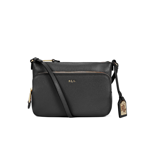 Lauren Ralph Lauren Women\u0027s Harrington Cross Body Bag - Black: Image 1