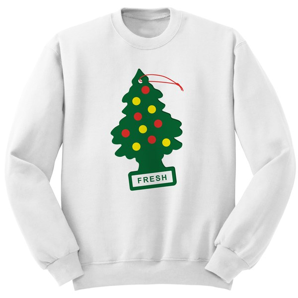 Fresh Christmas Sweatshirt - White