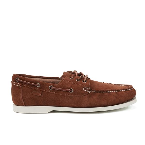 Polo Ralph Lauren Men's Bienne II Suede Boat Shoes - New Snuff