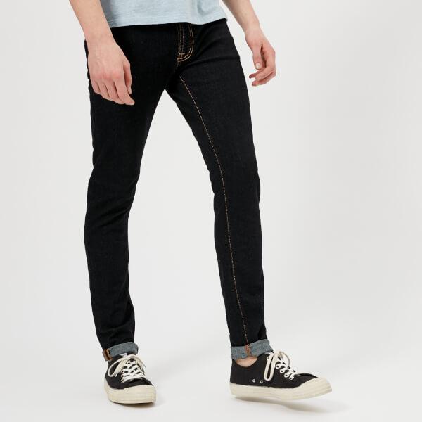 Nudie Jeans Skinny Lin Jeans - Dry Deep Orange