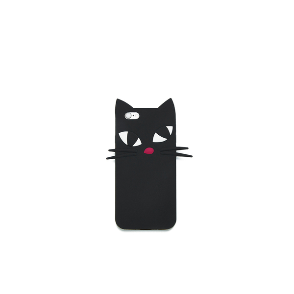 Lulu Guinness Women's Kooky Cat iPhone 6 Case - Black