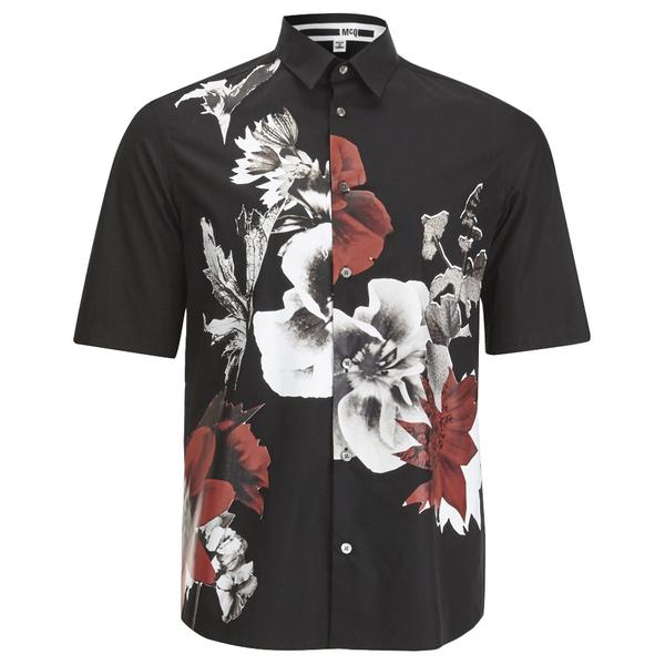 McQ Alexander McQueen Men's Sheehan Shirt - Darkest Black