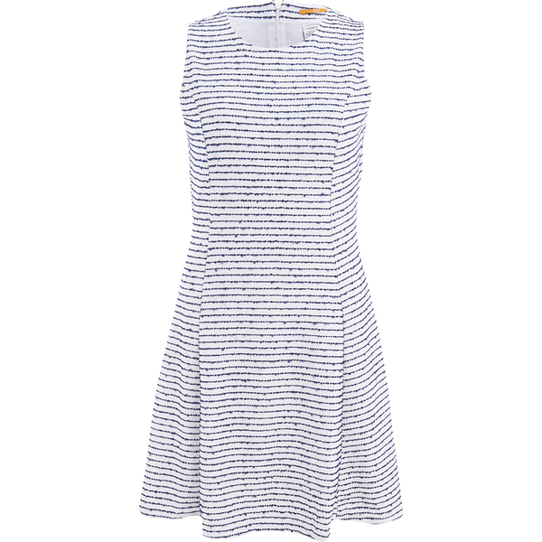 BOSS Orange Women's Dicoco Stripe Dress - White