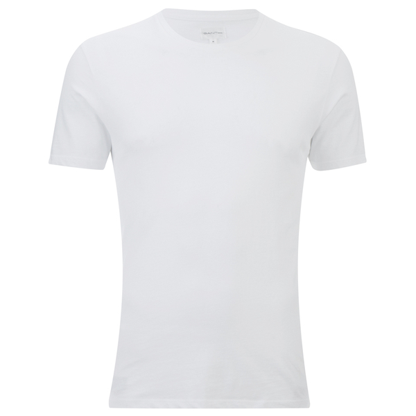 GANT Rugger Men's Basic Crew T-Shirt - White