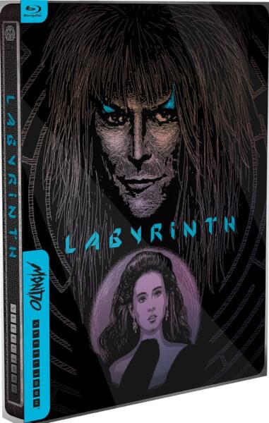 Labyrinthe Steelbook Mondo X Édition Limitée Exclusive pour Zavvi
