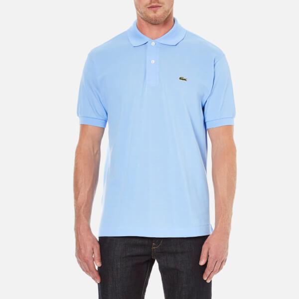 Lacoste Men's Short Sleeve Pique Polo Shirt - Nattier Blue