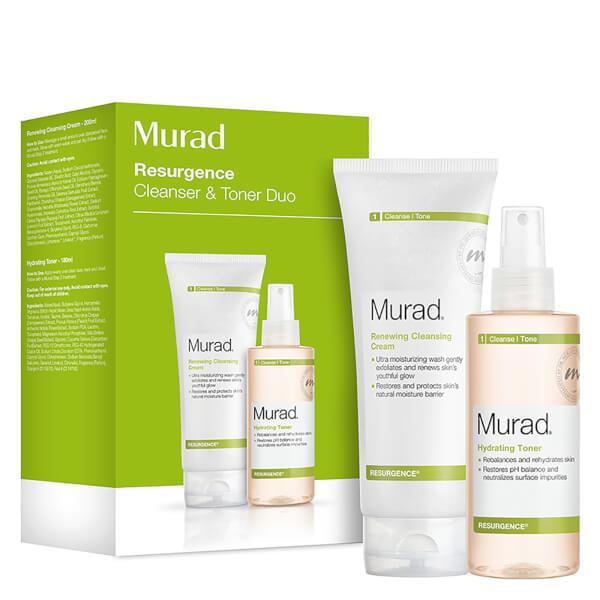 Murad Renewing Cleansing Cream and Hydrating Toner Duo
