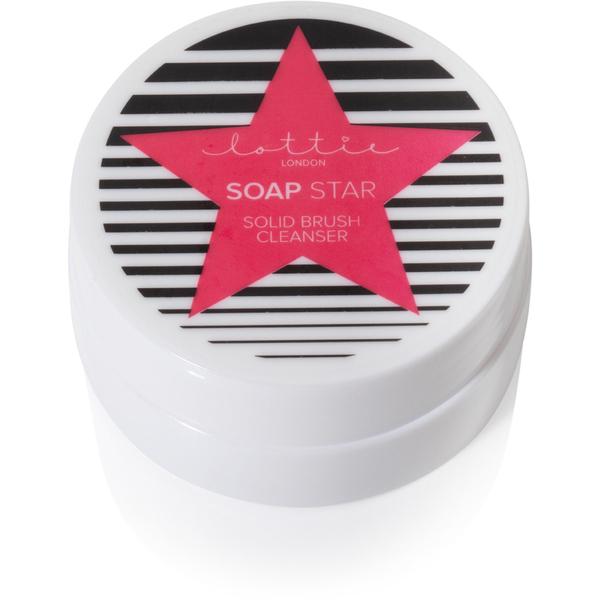Lottie London Brush Cleanser Soap Star 30g