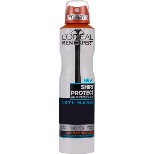 L'Oréal Paris Men Expert Shirt Protect Long Lasting Fragrance Deodorant 250 ml