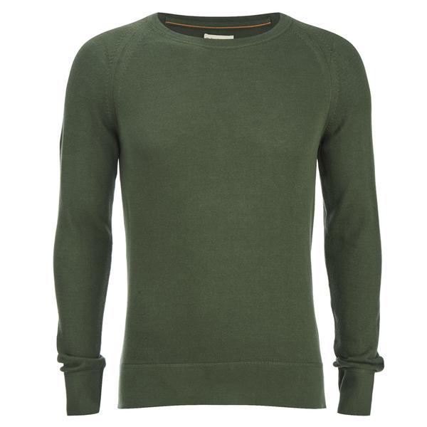 Nudie Jeans Men's Dag Knitted Jumper - Olive