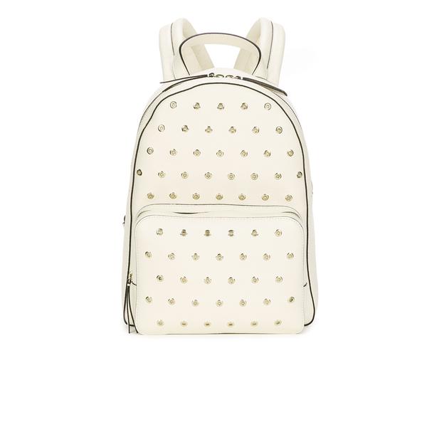 REDValentino Women's Eyelet Backpack - White
