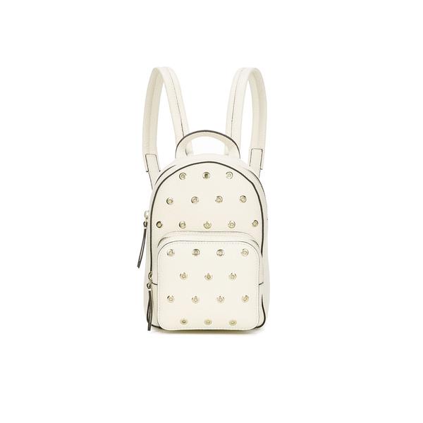 REDValentino Women's Mini Eyelet Backpack - White