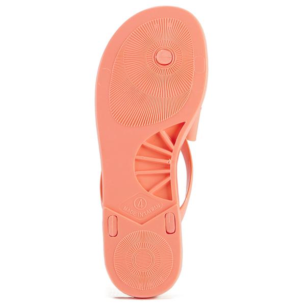 e2721ec0f3d9ab Ted Baker Women s Ettiea Jelly Bow Flip Flops - Light Orange  Image 3