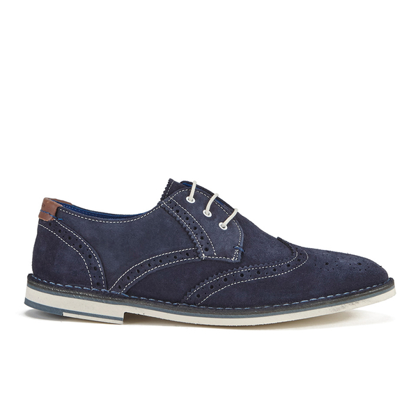 Ted Baker Men's Jamfro 7 Suede Brogues - Dark Blue