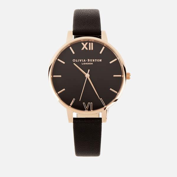 Olivia Burton Women's Burton Big Dial Watch - Black