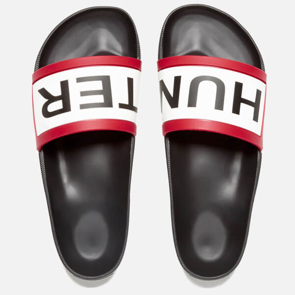 Hunter Men's Original Slide Sandals - Black