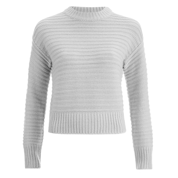 The Fifth Label Women's Cacti Jungle Knit Jumper - Light Grey Marle
