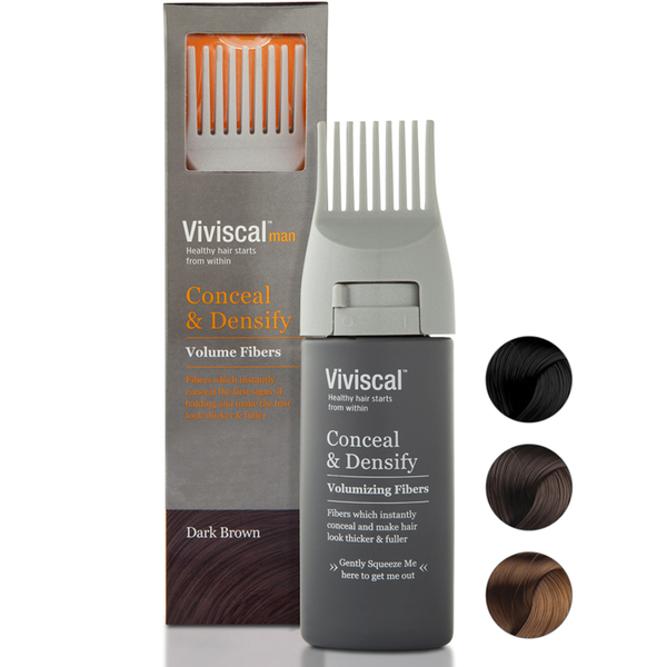 Viviscal Hair Thickening Tresse Men Dark - Brown