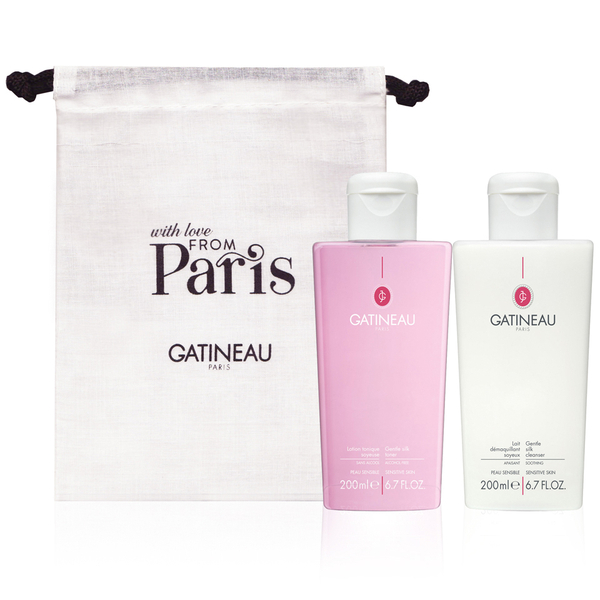 Tónico y limpiador Gentle Silk Cleanser and Toner Duo de Gatineau