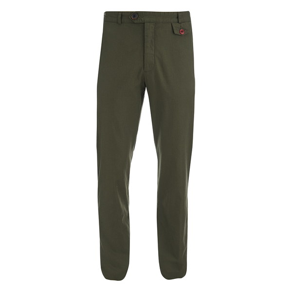 Oliver Spencer Men's Fishtail Trousers - Calvert Green