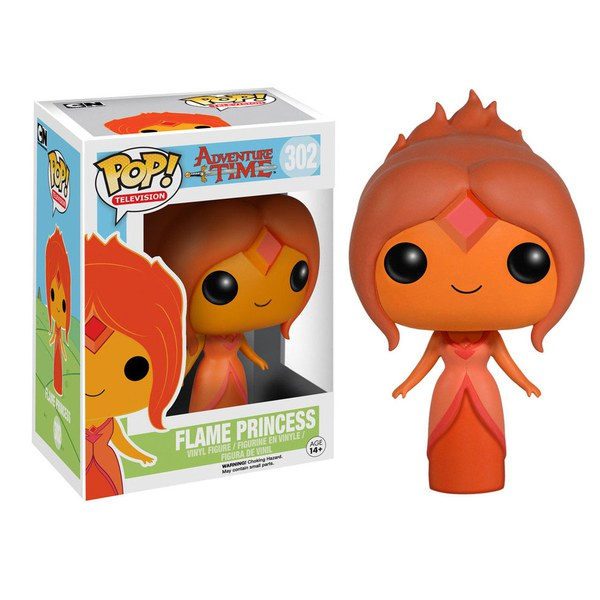 Adventure Time Flame Princess Pop! Vinyl Figure