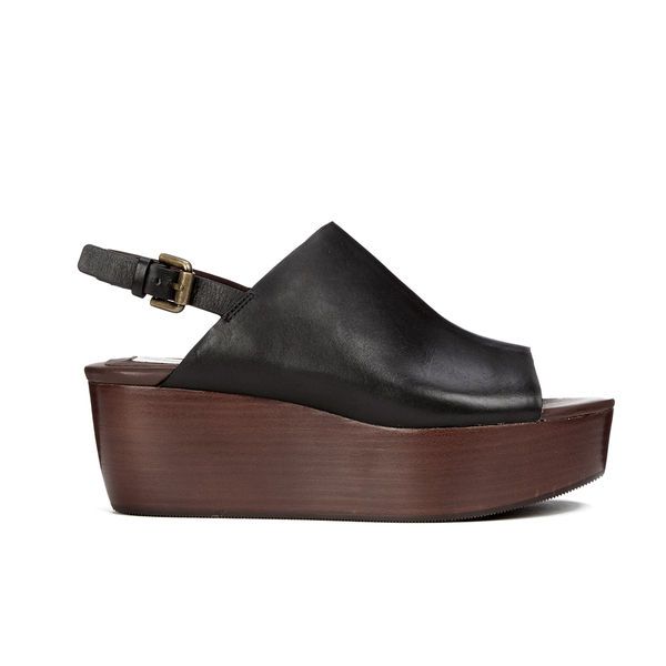 See By Chloé Women's Leather Platform Mules - Black