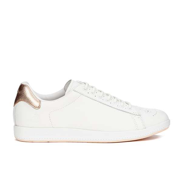 d9bd4f9c440 Paul Smith Shoes Women's Rabbit Leather Trainers - White Mono Lux  Image 1