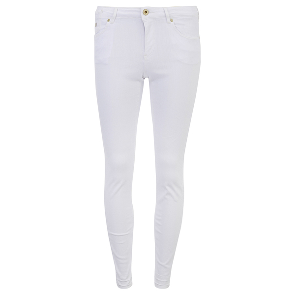 Maison Scotch Women's La Parisienne Plus Jeans White Lie - White