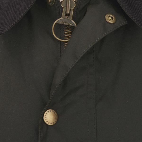 Barbour Men S Ashby Wax Jacket Olive Clothing Thehut Com