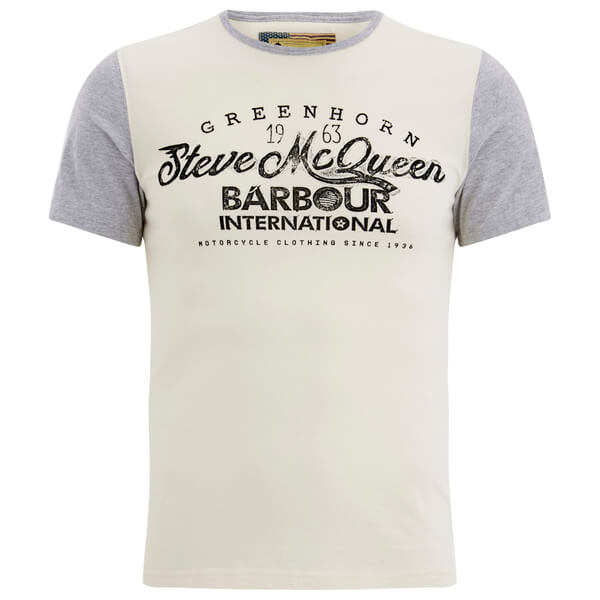 Barbour X Steve McQueen Men's Vin T-Shirt - Neutral